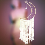 Fair Trade Large Moon Dreamcatcher