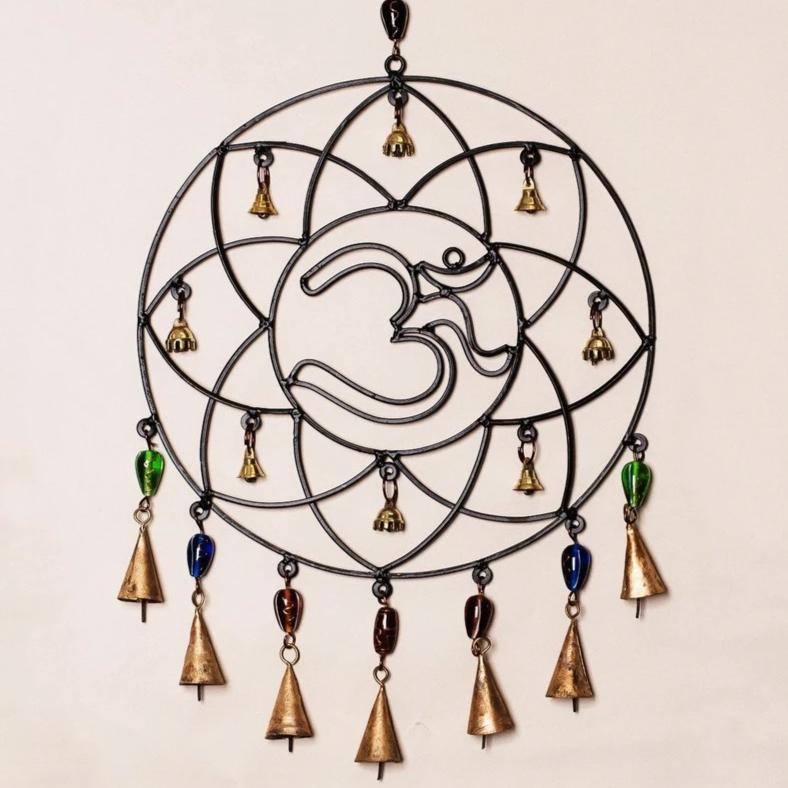 Om Chime with Beads