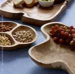 Teak Wood Trio Tray