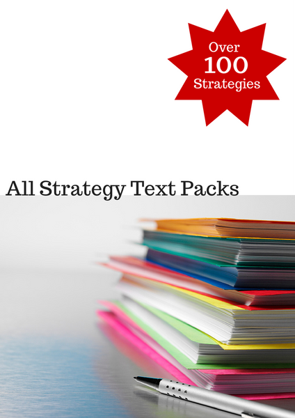 All Strategy Text Pack