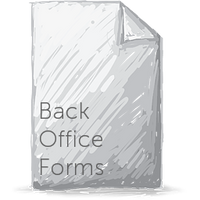 Back Office Form Pack (SAVE 50%)