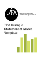 SoA Template - FPA Sample Template