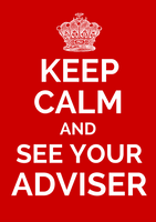 Office Poster - See Your Adviser