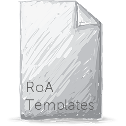 RoA Template - Hold Template
