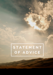 Statement of Advice Cover Page – Sunset
