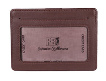Roberto Ballmore Genuine Leather Unisex Card Holder