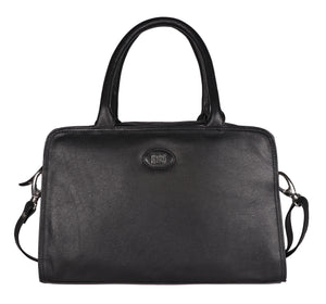 Timeless Black Color Tote Hand Bag By Roberto Ballmore
