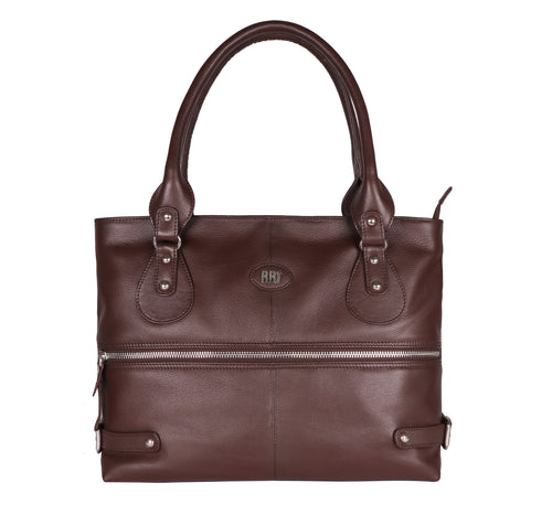 Deep Brown Roberto Ballmore Limited Edition Tote Hand Bag