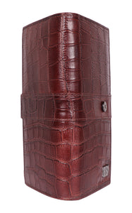 Roberto Ballmore  Genuine Leather Lizard Print