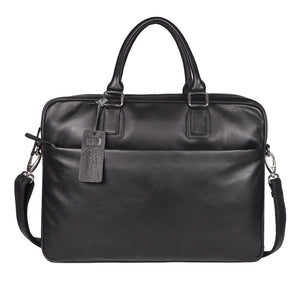 Roberto Ballmore Classic Genuine Leather Hand Bag