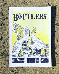 'The Bottlers: Avian Australiana' Artist Annie Walter Signed and Numbered Print Set