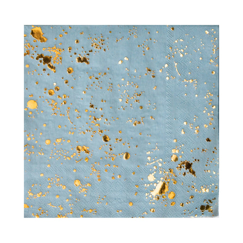 Malibu - Blue Splash Cocktail Paper Napkins