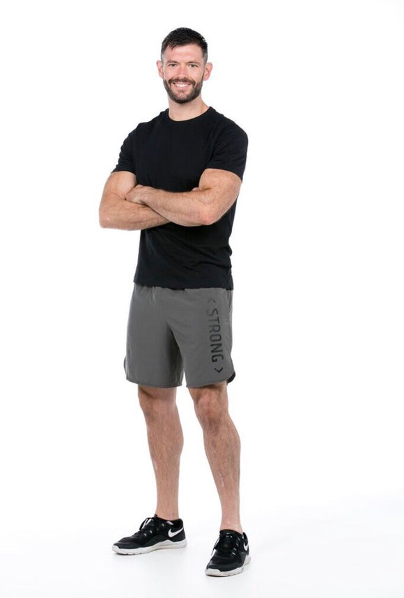 Grey Men's Gym Shorts