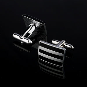 Three Bar Cufflinks