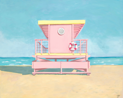 Ballerina Pink Lifeguard Station