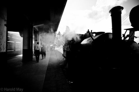 Smoking Train