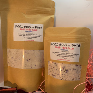 Bath Milk Soak Lavender