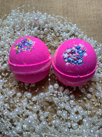 Bath Bomb Pink Lemonade