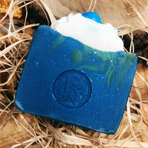 Crystal Soap Howlite Scent Beach