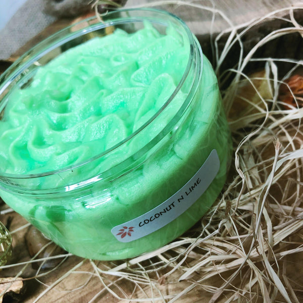 Whipped Soap Coconut n Lime