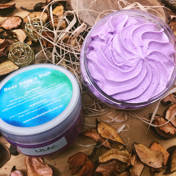 Whipped Soap Lilac
