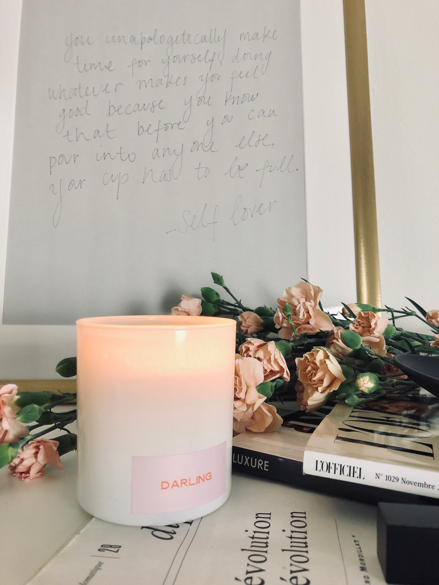SELF LOVER CANDLE – PRETTY CLEAN CO