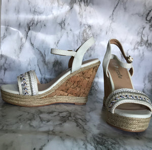 Beaded Sequins Wedges