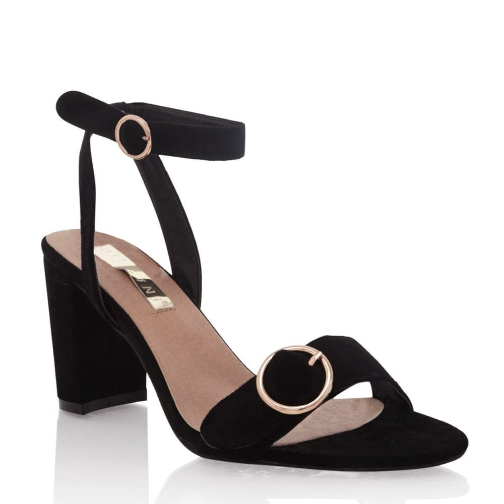 Romina | Black Suede - Shoes