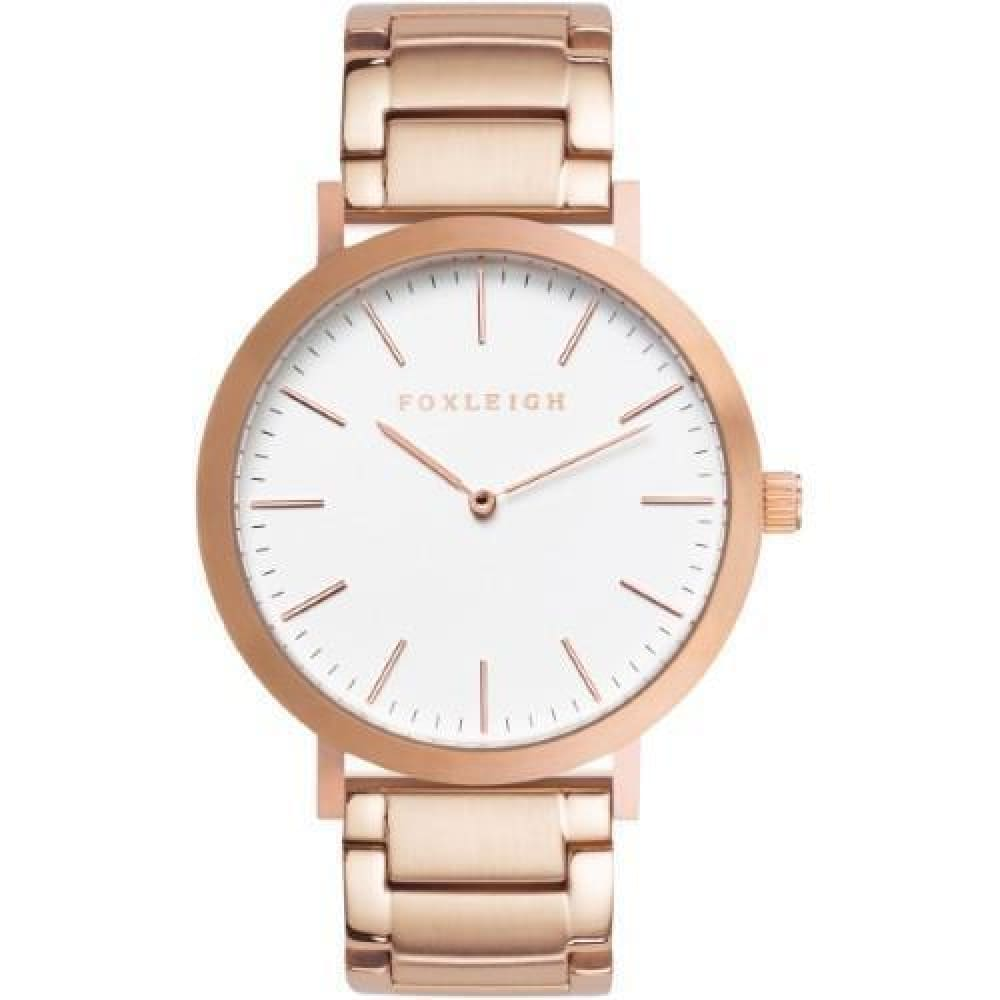 Rose Gold Steel Timepiece