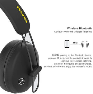 Awei A800BL Wireless Sports Bluetooth Headset