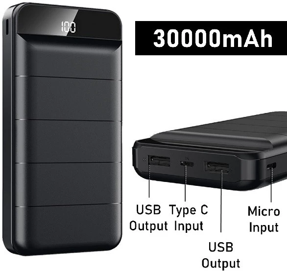 REMAX Leader Series 30000 mAh Power bank