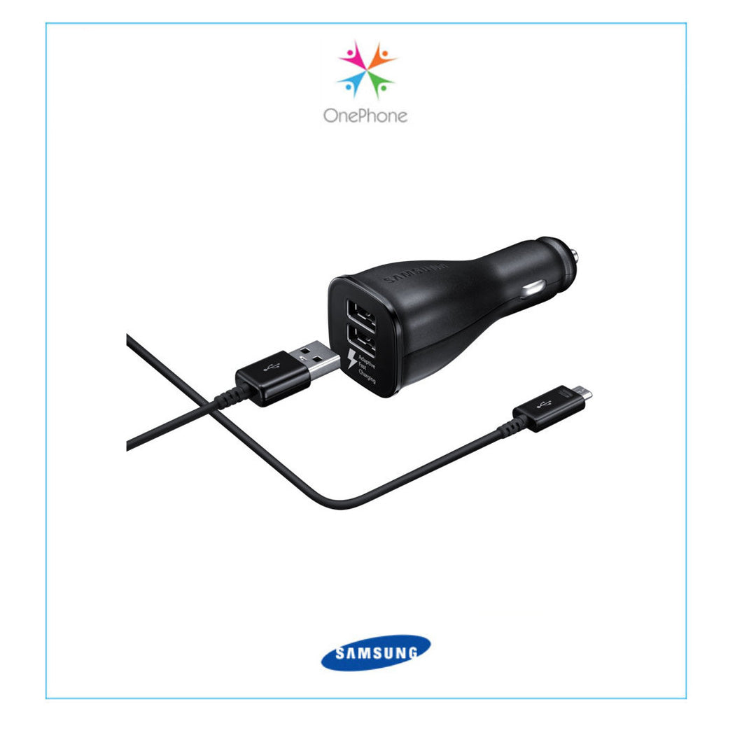 Samsung Fast Charging Dual-Port Car Charger