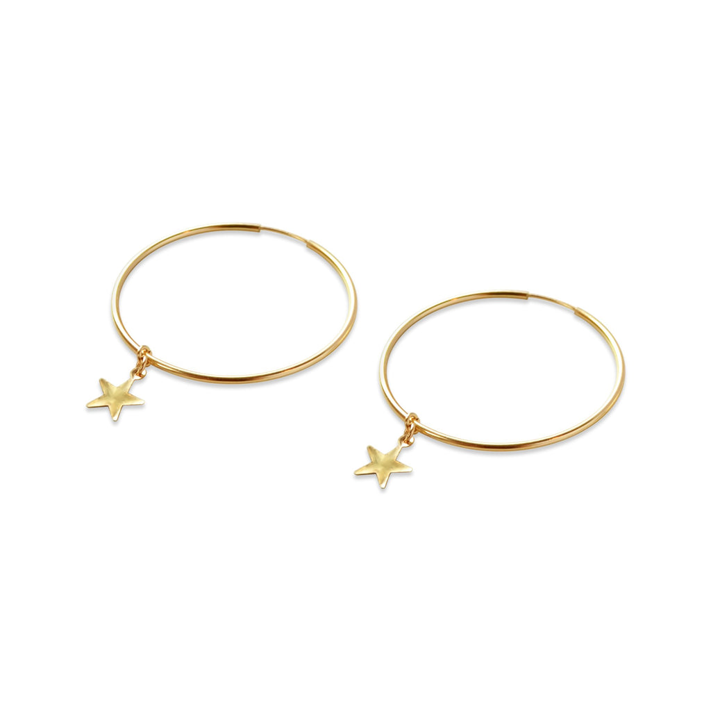Starlight Hoop Earrings