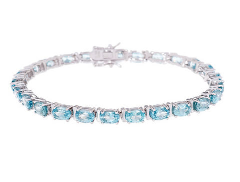 GEMSTONE TENNIS BRACELET
