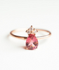 PAVE PEAR RING