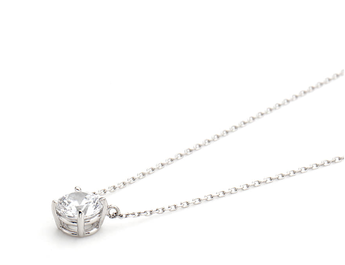 SINGLE STONE Solitaire Necklace