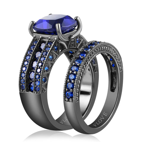 European style two pieces ring