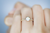 OPAL SOLITAIRE RING