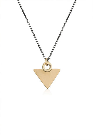 Triangle Gold Necklace