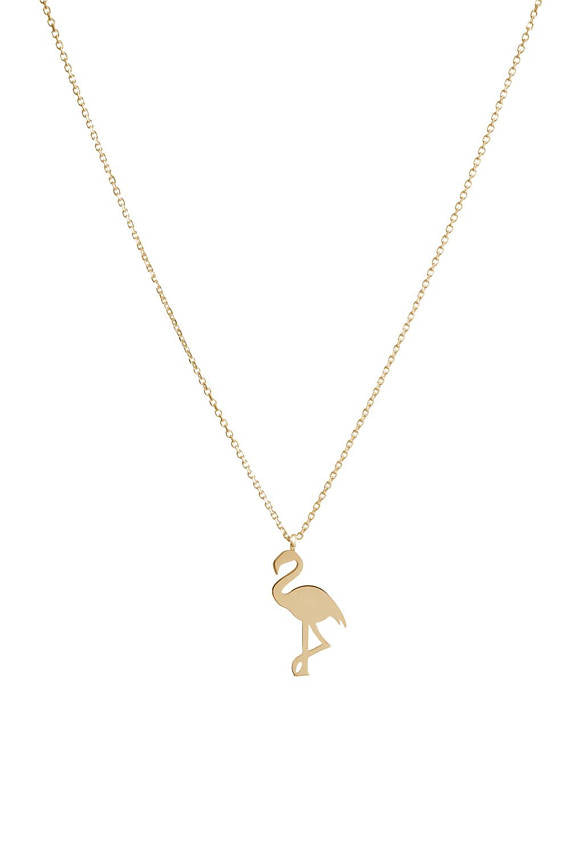 Flamingob Gold Necklace