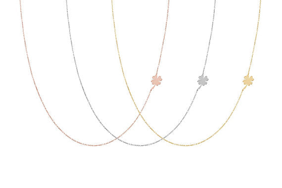 Clover Gold Necklace