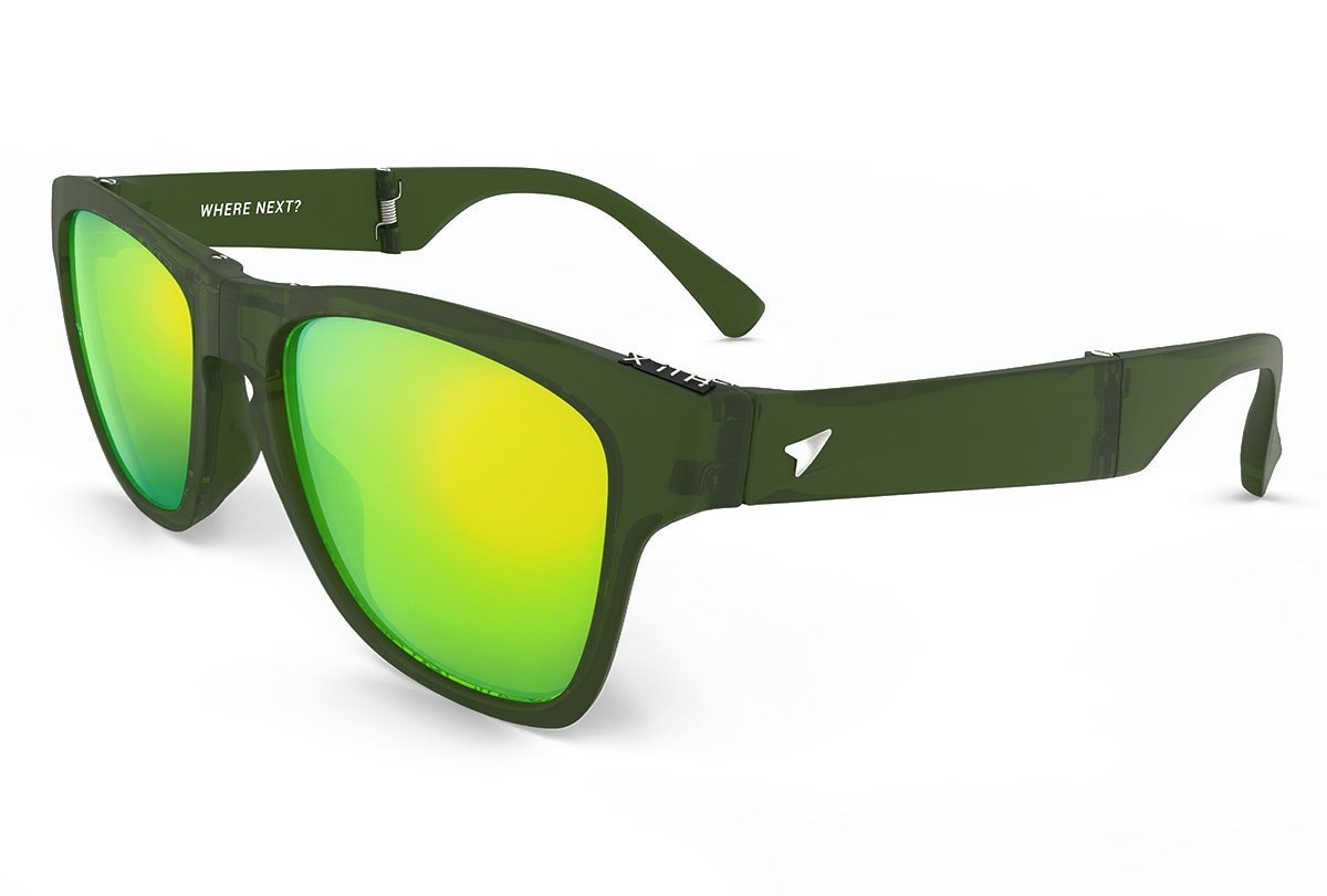 Hilx Eyewear - Glasses - Military Green - Unfold