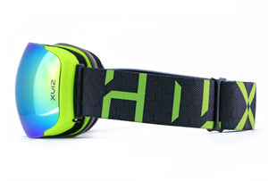 Hilx Eyewear - Glasses - Recon Neon Olive Green - SNOW
