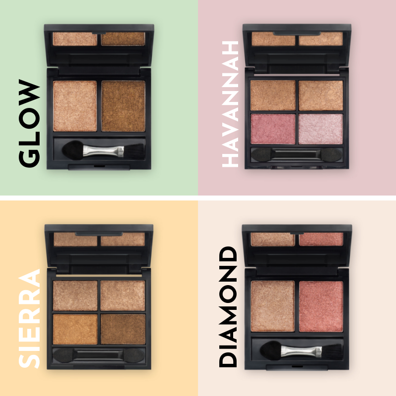 INTRODUCING OUR BRAND NEW METALLIC EYESHADOW RANGE