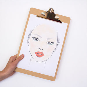 Friday Face Chart- Nude Jade