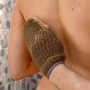 Load image into Gallery viewer, Tan Exfoliating Mitt