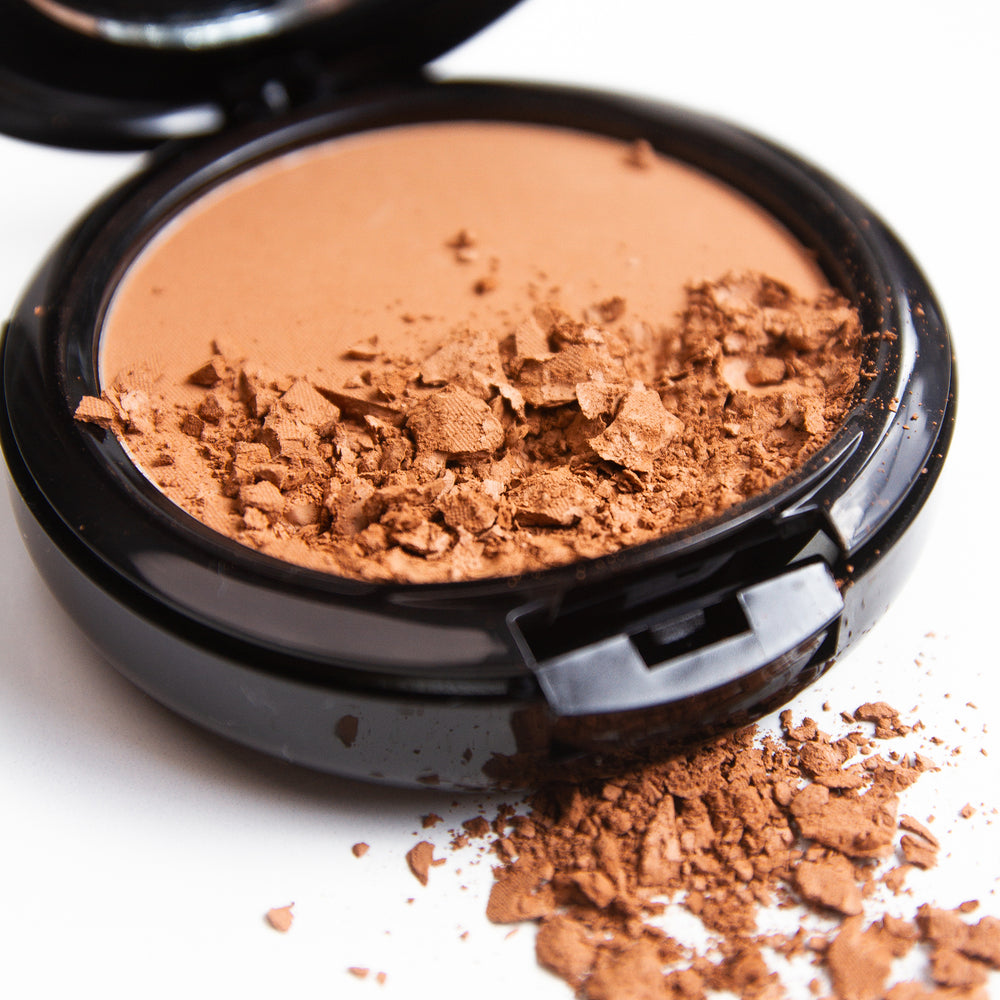 Load image into Gallery viewer, Certified Organic Flora Powder Contour Bronzer