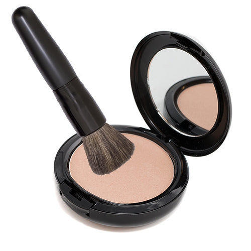 Glow Highlighter and Powder Brush Bundle