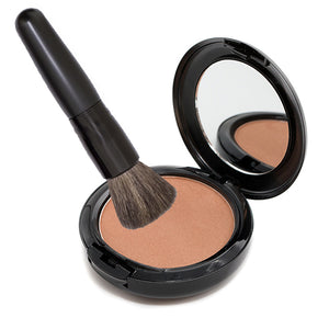 Load image into Gallery viewer, Shimmer Bronzer and Powder Brush Bundle