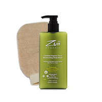 Body Wash and Polishing Mitt Bundle